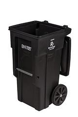 black-garbage-can
